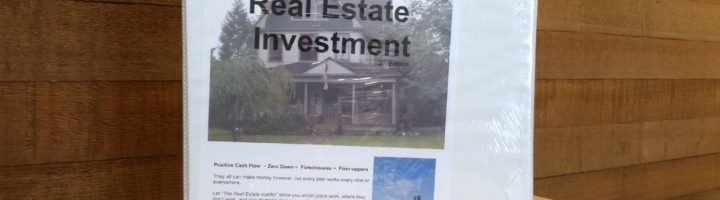 Principles of Real Estate Investment
